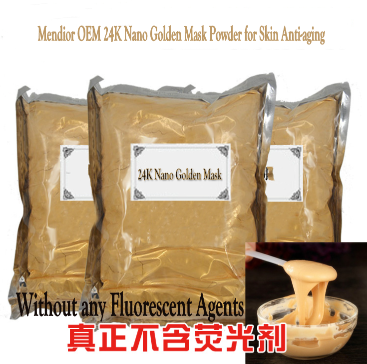Mendior OEM 24K Nano Golden Mask Powder for Skin Anti-aging