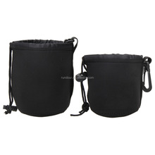 Promotion Brand New 4pcs/lot Matin Neoprene Waterproof Soft Camera Lens Pouch Bag Case 4 Pcs Size XL L M S For Canon Nikon