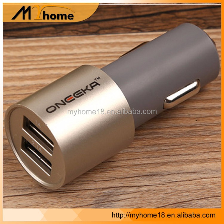 2017 New Wholesale Fast Charging Qc 3.0 12V 2 Port Micro Usb Car Charger Adapter with CE SGS