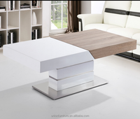 UDT-1562 HIGH GLOSSY PAPER COFFEE TABLE