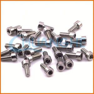 Factory supply good quality titanium screw for bicycle parts with din7981