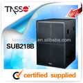line array component systems speaker truss SUBB218B