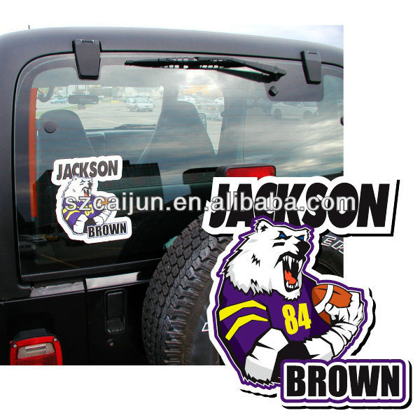 Strong adhesive die cut sticker,car body/window decal sticker