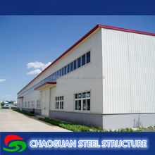 Quick build easy to assemble and disassemble steel frame warehouse,factory
