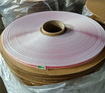 Self adhesive tape for OPP plastic bag sealing