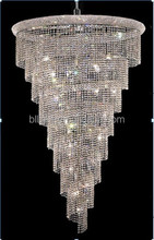 Chrome Color Luxurious Design crystal modern chandelier lighting