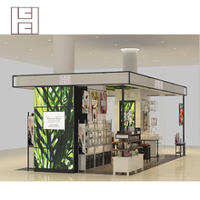Design And Produce Popular Retail Shopping Mall Kiosk for Sale