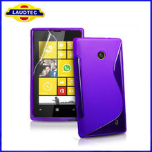 High Quality Soft S Line TPU Case For Nokia Lumia 520