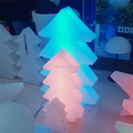 multi color small led PE tree for christmas,outdoor led christmas tree,flashing small led christmas tree