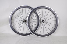Dengfu 700c 21/23mm rim wide Carbon clincher aluminum wheelset, carbon fiber bicycle wheels