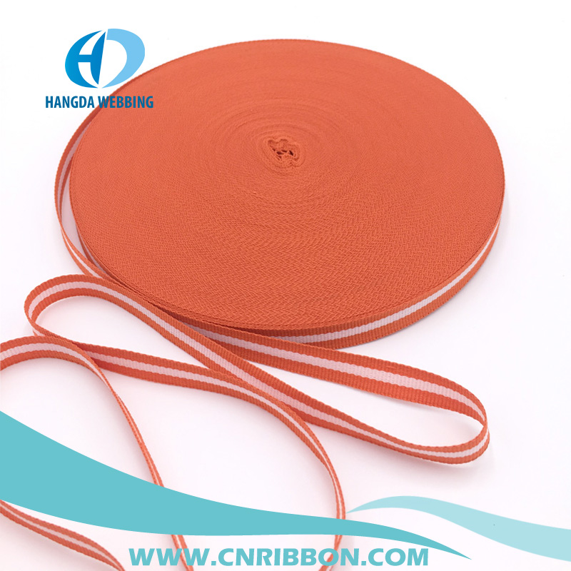 high strength polyester webbing for safty belt nylon webbing strap