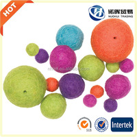 Colorful Wool Dryer Balls with red ,green ,purple