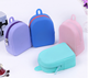 New Mini Fancy Silicone Pocket Coin Purse with Zipper bag shape coin wallet