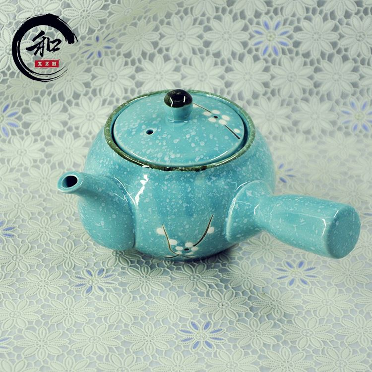 China Factory Wholesale Hand Painted Cheap Ceramic Teapots Wholesale