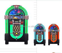One More Time Wurlitzer Style Jukebox with CD player / radio / usb sd