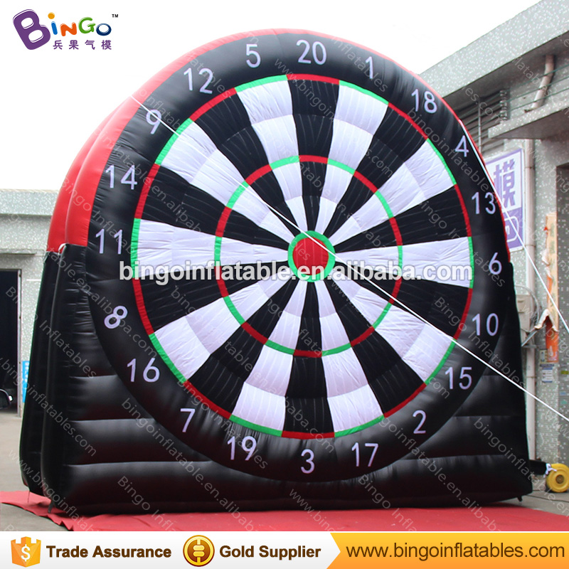 Inflatable Sticky Football durable inflatable soccer darts with Velcro