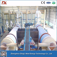 Large Capacity Wheat Straw Dryer With Rotary Drum Structure