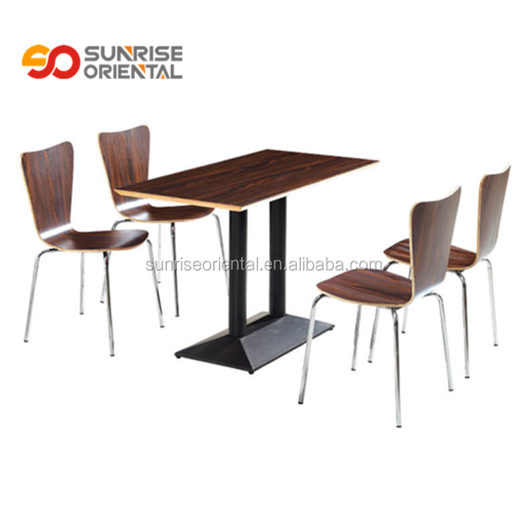 fast food restaurant furniture table and chairs foshan furniture modern