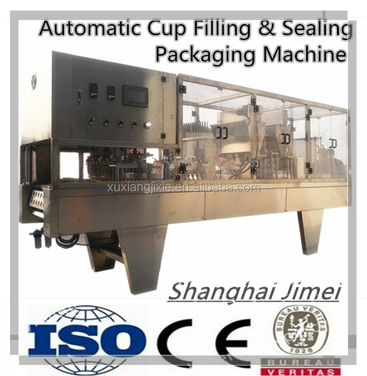 Fully Automatic Cup Filling & Sealing Packaging Machine