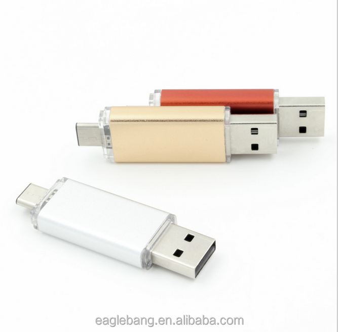 Shenzhen supplier otg usb 3 in 1 drive memory flash disk
