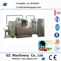 by stainless steel coating pan machine to make film coated tablet