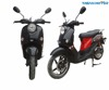 EEC Approved 1500W Powerful Adult Electric Scooters With 60V 22 44Ah Removable Battery Electric Moped