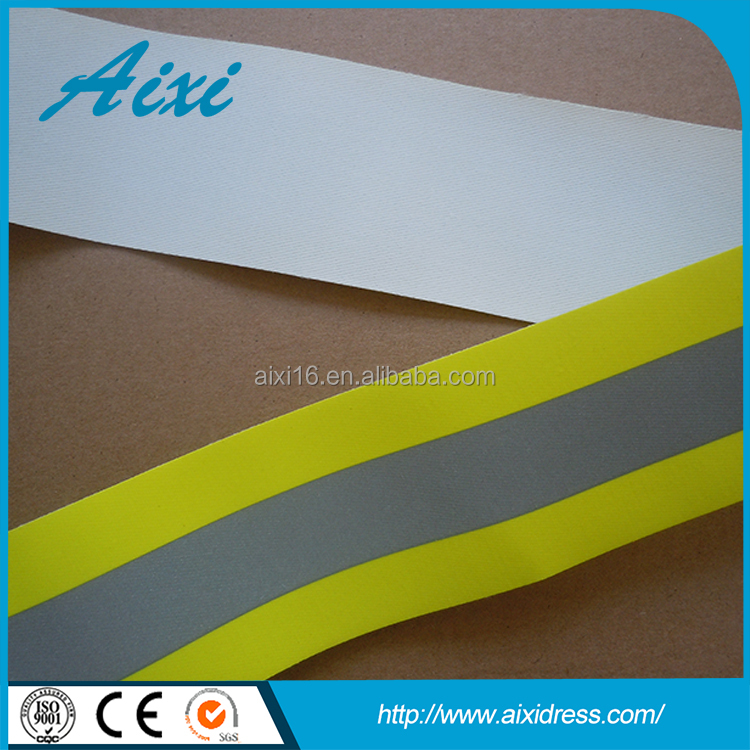 Silver reflective fabric, cheap reflective tape, reflex materials