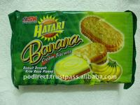 Hatari Banana Cream Biscuits