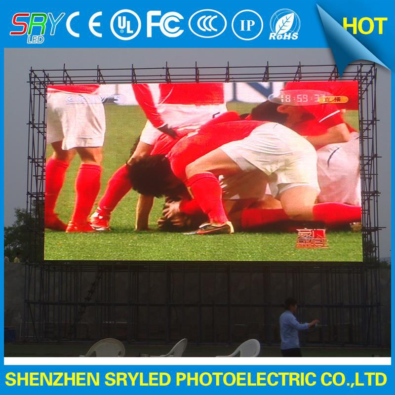 portable outdoor advertising display exterior pantallas led mobile led advertising display