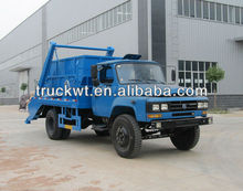 Dongfeng 140hp Swing-arm Garbage Truck