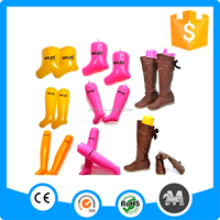 Promotional eco-friendly plastic inflatable boot shapers for boot keep