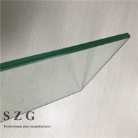 Cheap price 5mm 6mm chemically tempered toughened safety glass