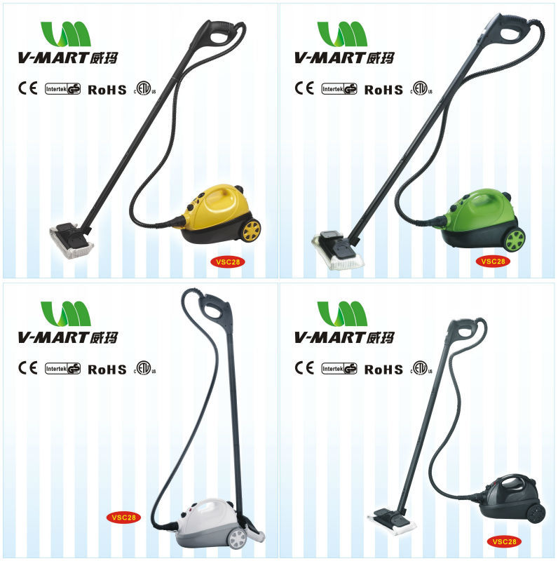 2016 hot sale powerful 1500w 10 in 1 best steam mop