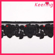 Flower lace car interior door trim WTP-1124