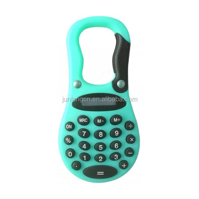 New Design 8 Digits Calculator With Hook Office Calculator Promotional Calculator