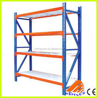 Quickly installation medium duty metal racks, warehouse long span rack, medium duty longspan shelving