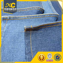 14oz changzhou blue workwear jean fabric with factory price made in china