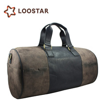 World Best Sell Top Quality 2017 New Style Leather Duffle Bag,Leather Travel Bag