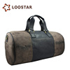 World Best Sell Top Quality Mens Waterproof Leather Travel Organizer Duffle Bag