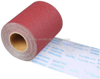 abrasive emery cloth roll with all grits