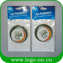 Air Freshener Factory Cheap Wholesale Promotion Custom Hanging Paper Car Air Freshener
