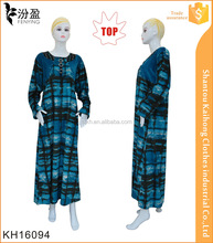 2016 traditinal turkey dress abaya/wholesale cheap customer dubai abaya whit wool buttons and beads