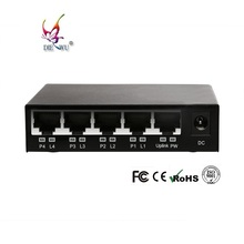 Factory price OEM POE ethernet switch 4 port 1 uplink IP camera POE adapter