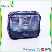 High quality small size travel set face wash and shower gel 3pcs men skin care