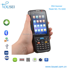 Android mobile phone 3g pos terminal 1d/2d barcode reader PDA with 1GB ram