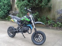 Adult colored 2stroke 49cc powerful moto dirt bike