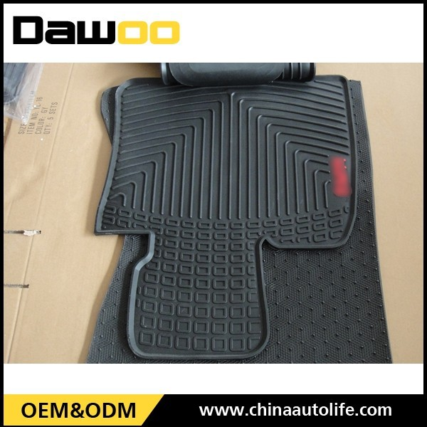 Single Car Floor Mat Anti Skid Car Floor Mat With Spikes Backing , 3m car mat