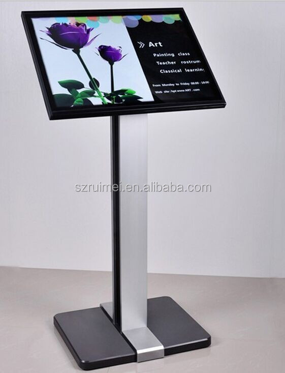 2016 Floor Standing Metal Outdoor Advertising Display