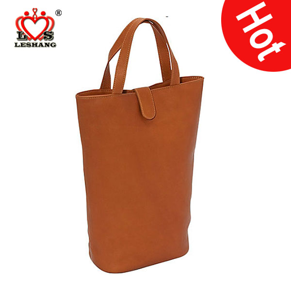 Wholesale Piel Double Wine Tote wine travel bag