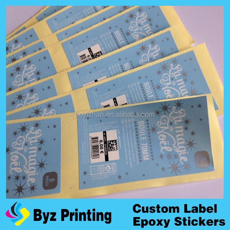 Self adhesive electronic component label
